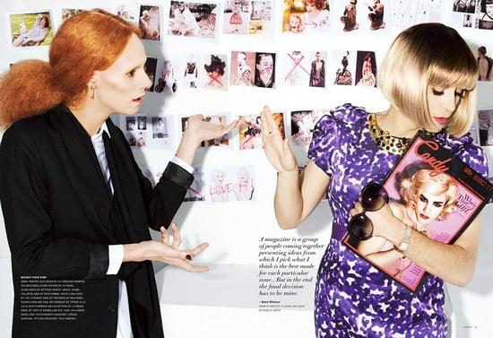 Candy Magazine Does Drag Versions of Anna Wintour, Grace Coddington, and Tavi Gevinson