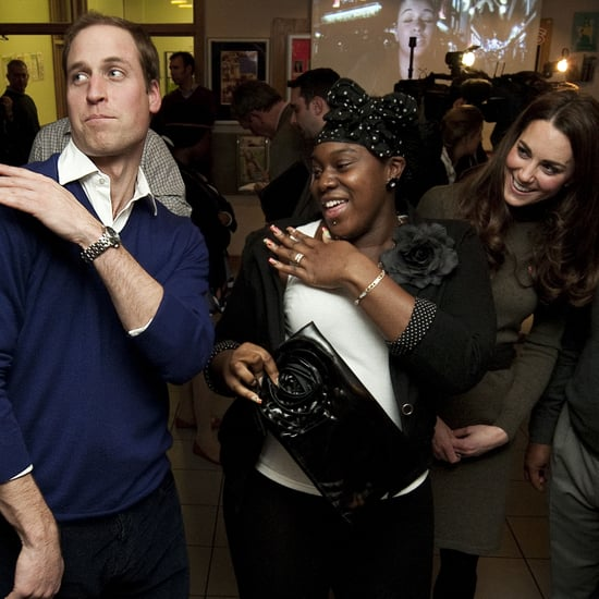 Prince William Brushes Dirt Off His Shoulder Pictures