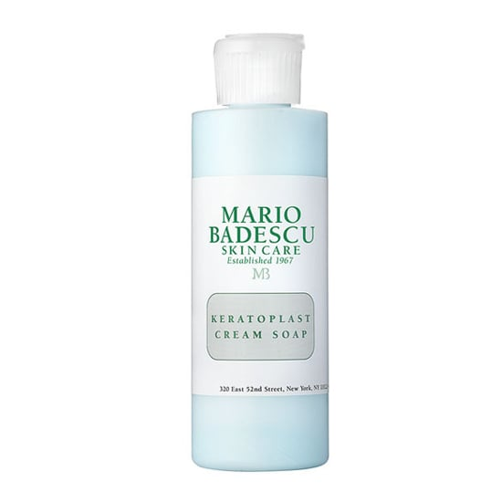 For truly sensitive skin sufferers, Mario Badescu Keratoplast Cream Soap ($10) soothes even the most red and irritated skin types, while also very gently cleansing your skin.