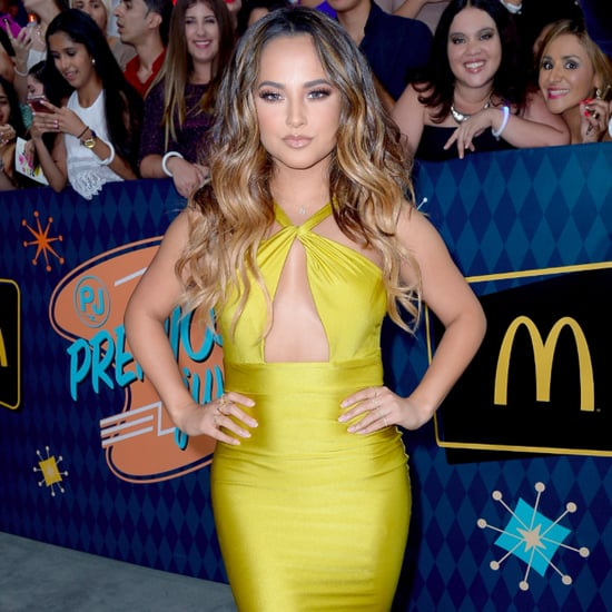 Becky G's Michael Costello Dress at Premios Juventud 2016
