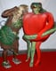 Heidi Klum and Seal let the Garden of Eden inspire their 2006 costumes in LA.