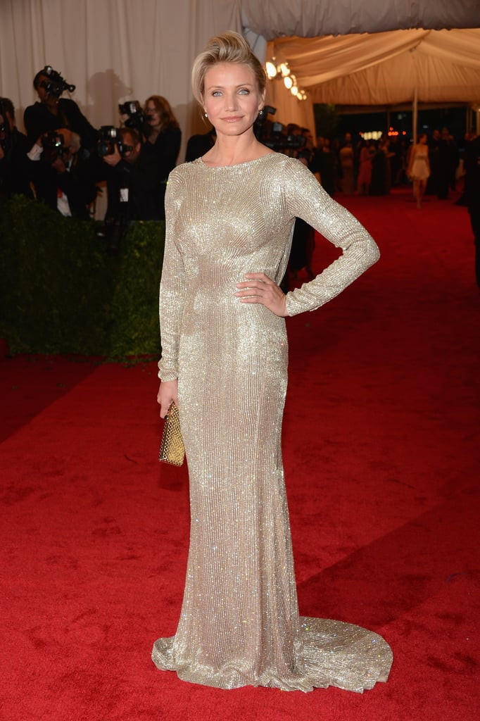 Cameron Diaz looked beautiful as ever in a Stella McCartney.