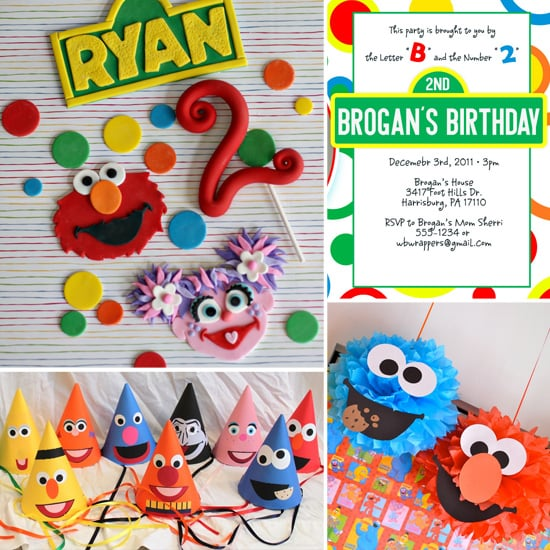 Sunny Days: How to Throw a Sesame Street-Themed Birthday