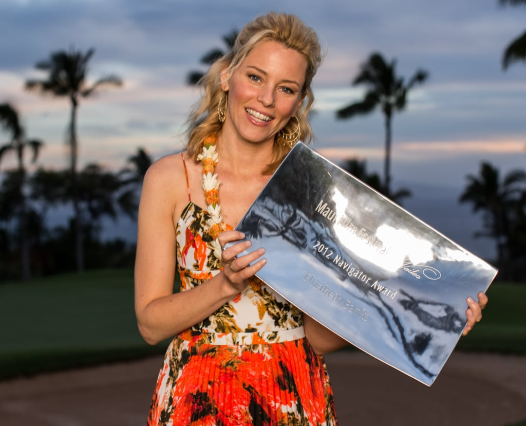 Elizabeth Banks at the Maui Film Festival on June 17.