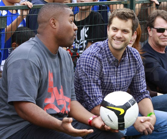 Photos of Joshua Jackson and Steve Nash At a Soccer Game in Vancouver