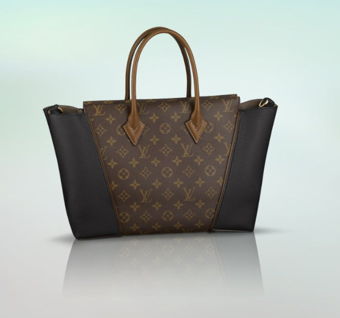 If you're looking for the It bag of the Fall, you've found it. Not only has the Louis Vuitton W bag ($3,700) been on the arm of every chic celebrity of late, but it also starred alongside Michelle Williams in the brand's Fall campaign.  — RK