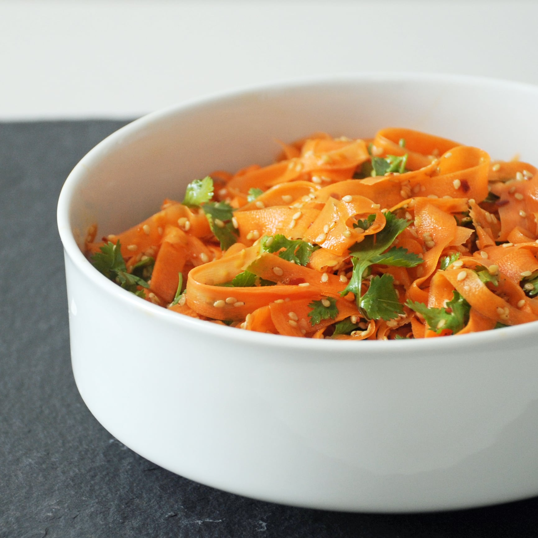 Spicy Sesame Carrot Salad