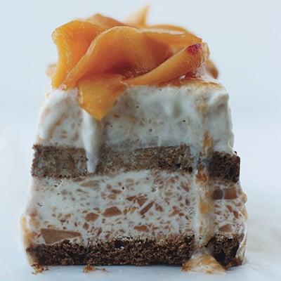 Plum-Good Ice Cream Cake