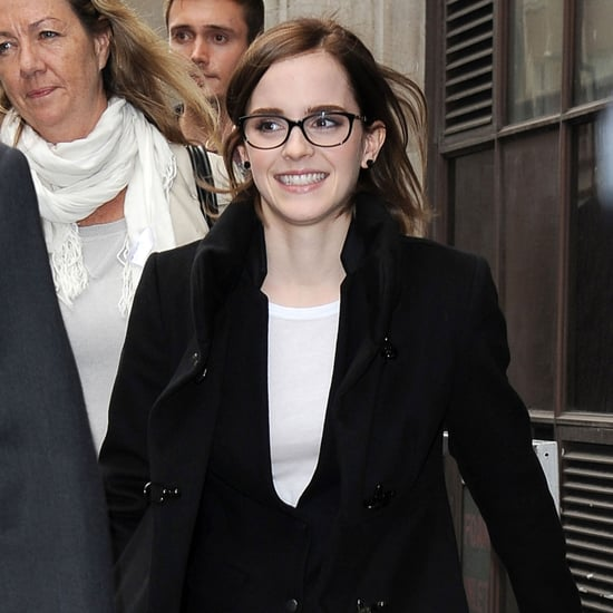 Emma Watson on BBC Radio in London | Pictures