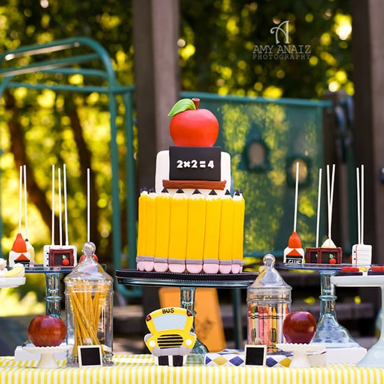 Back-to-School-Themed Party Idea