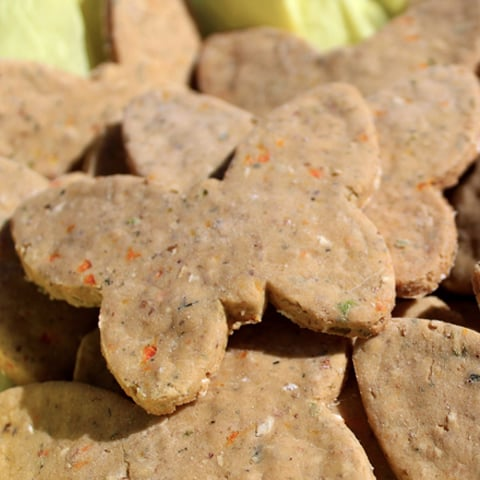 Gluten-Free Beef and Cheese Dog Treats