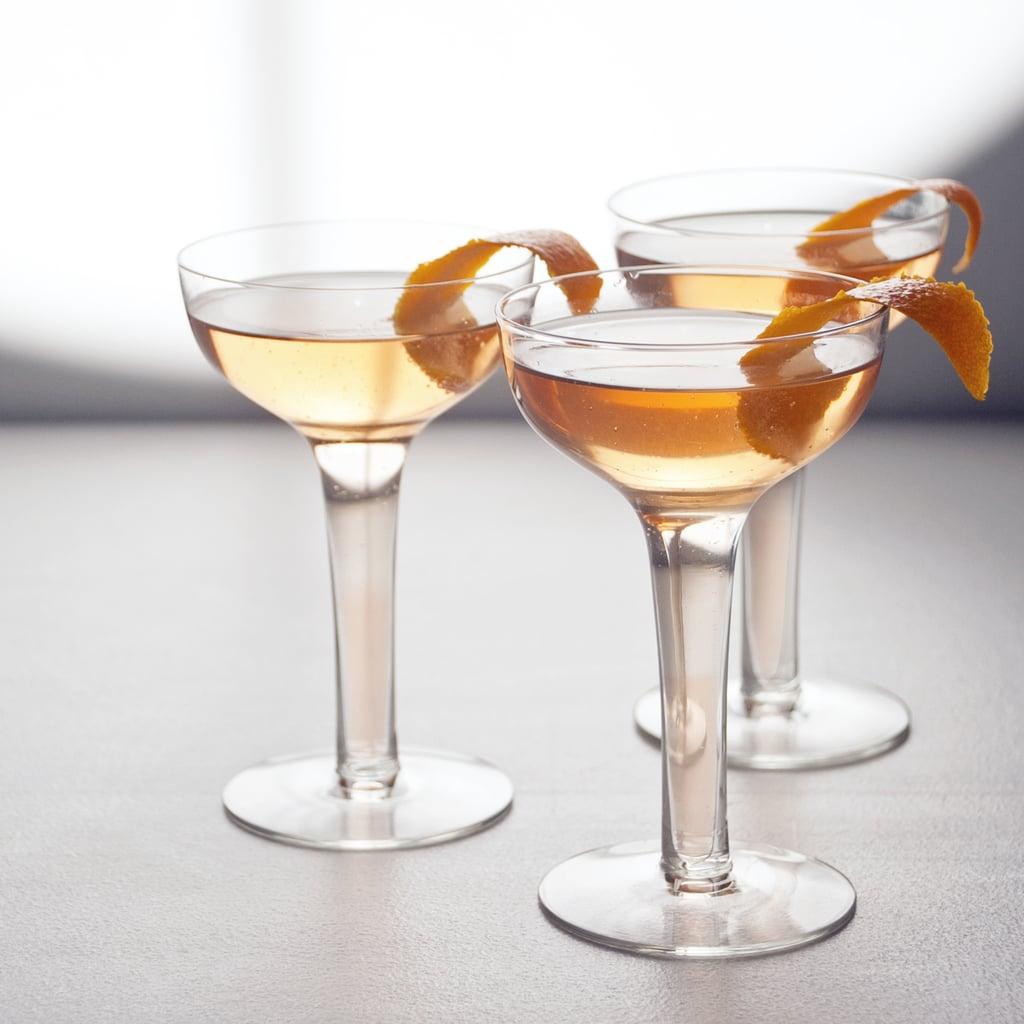 Sparkling Lillet Grapefruit Cocktail