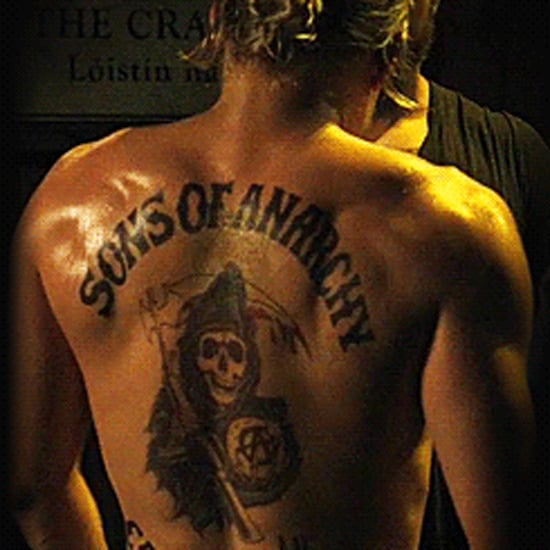 Sexy Pictures and GIFs of Charlie Hunnam's Back and Butt
