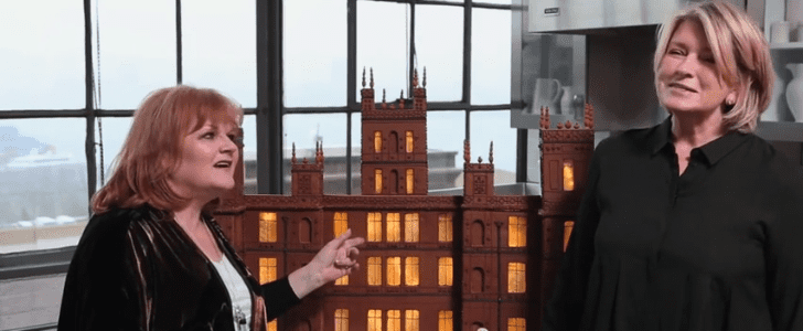 Martha Stewart's Gingerbread Downton Abbey Will Blow Your Mind