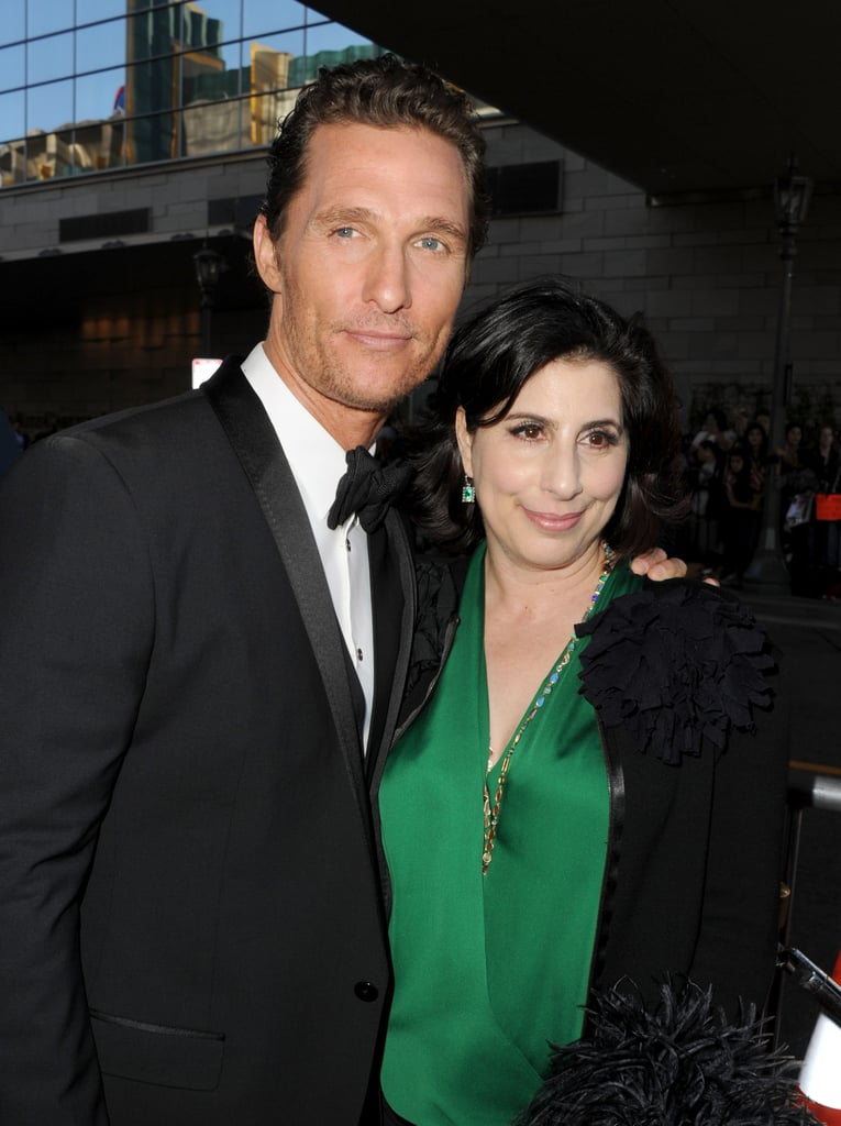 Matthew McConaughey and Sue Kroll