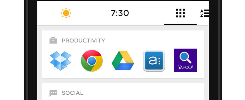 The Most Beautiful Way to Organize Your Android Apps