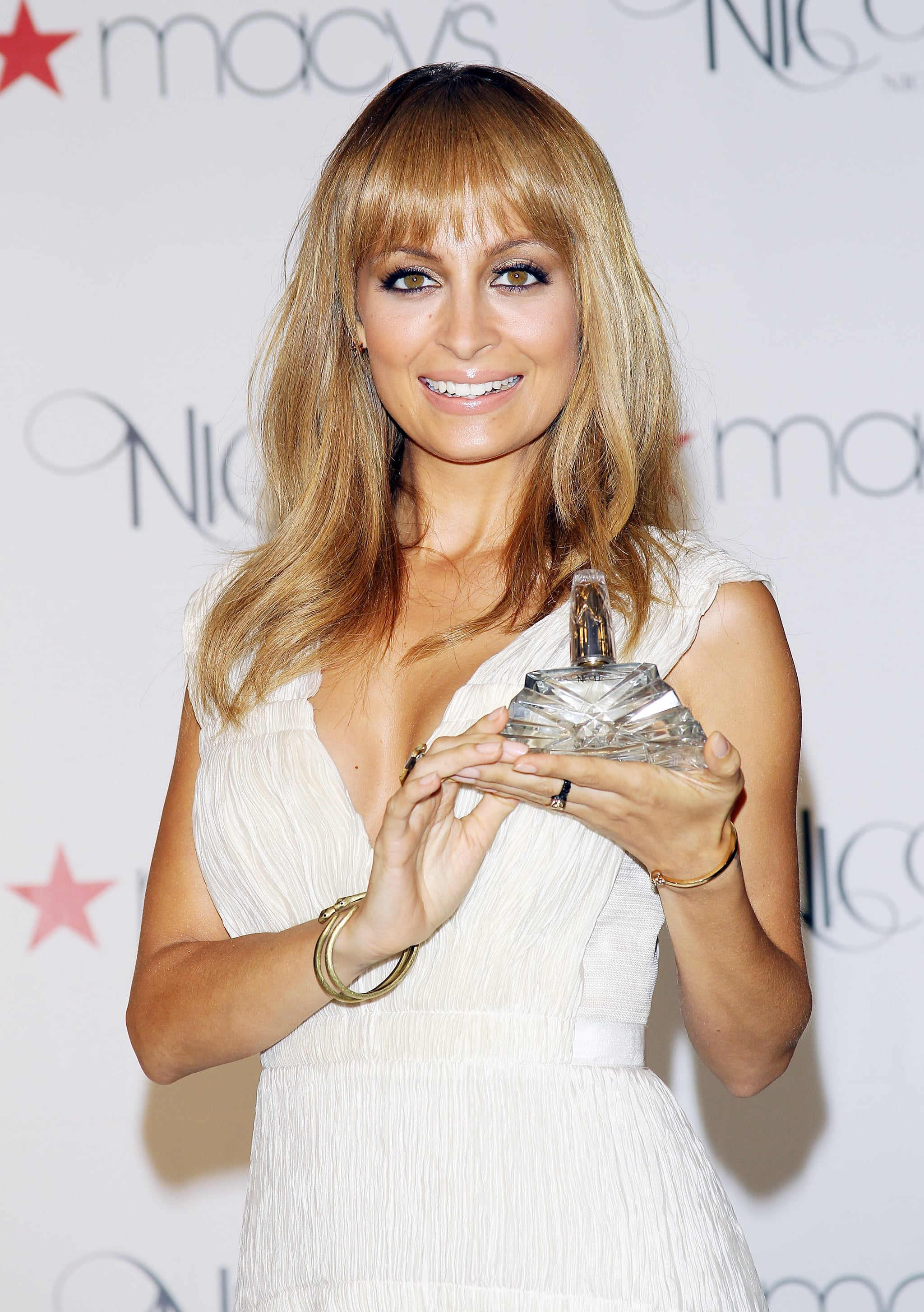 Nicole attended a launch event for her fragrance, Nicole, at Macy's in LA in August 2012.
