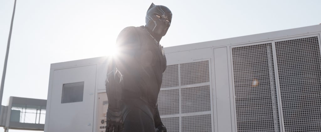 You May Have Seen Captain America: Civil War Next to the Actual Black Panther