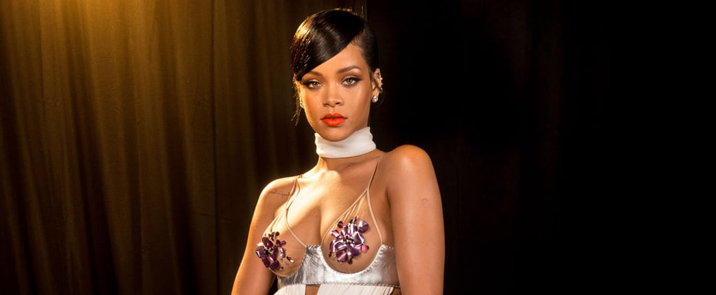 Rihanna Spends a Normal Wednesday With a Giant Sculpture of Her Boobs