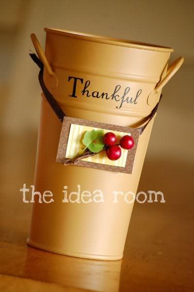 Thankful Bucket