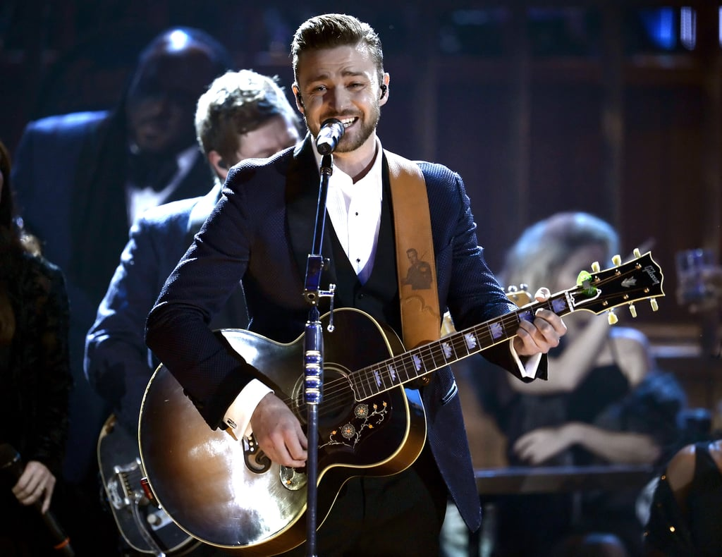 "Justin Timberlake took over the American Music Awards on Nov. 24, winning three coveted awards and performing ""Drink You Away."""
