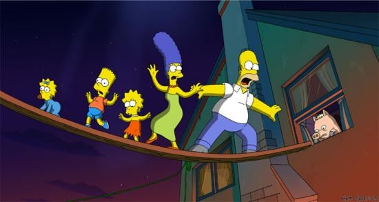 Sugar Bits - The Simpsons Movie Is Box Office Gold