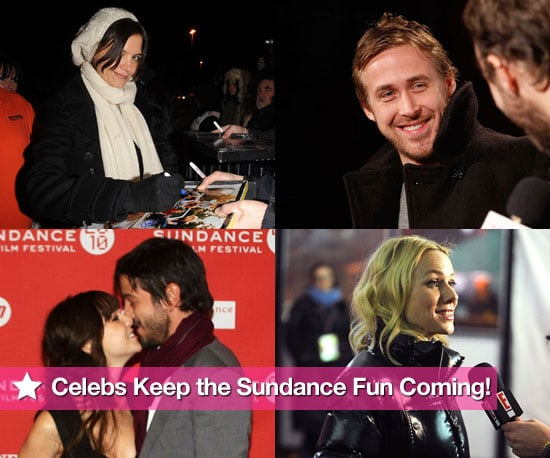 Celebs Keep the Sundance Fun Coming!