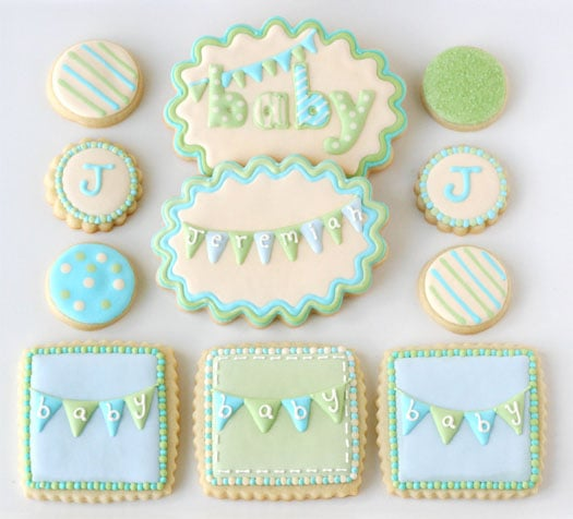 Baby Bunting Cookies