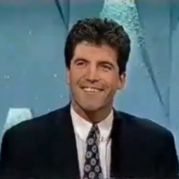 Young Simon Cowell as a Game-Show Contestant