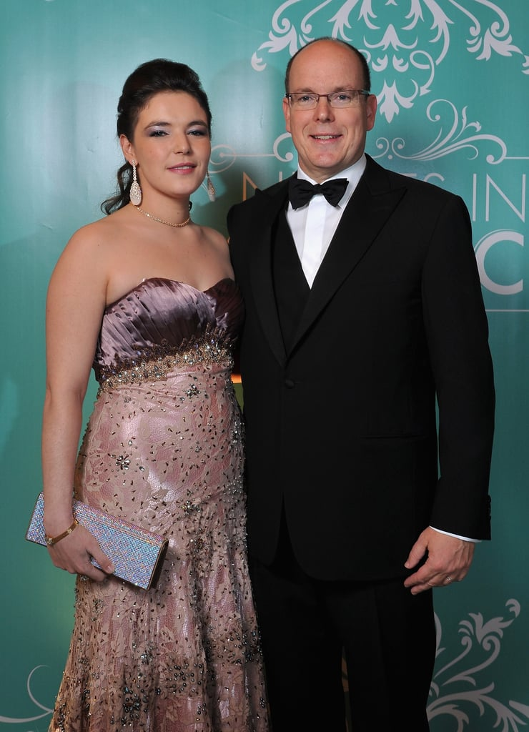 Prince Albert arrived at the Nights in Monaco Gala Fundraiser in Monte Carlo.