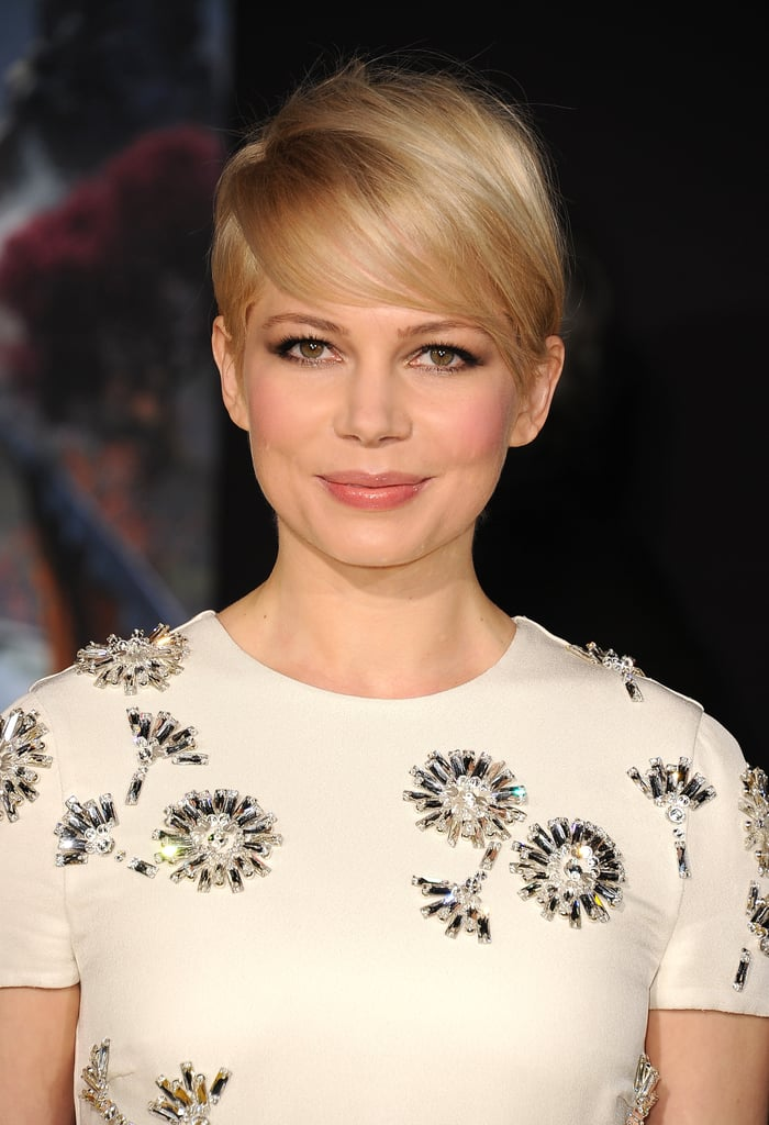 Michelle Williams attended the LA premiere of Oz the Great and Powerful.