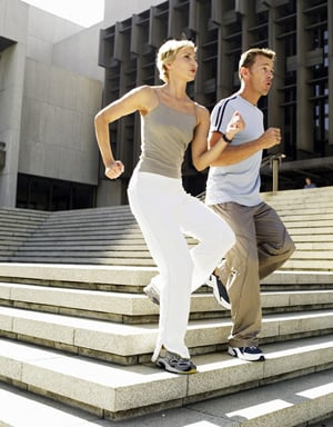 Green Exercise: Do the Stairs