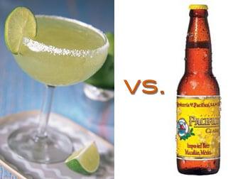 In Honor of Cinco de Mayo: Margarita vs. Mexican Beer
