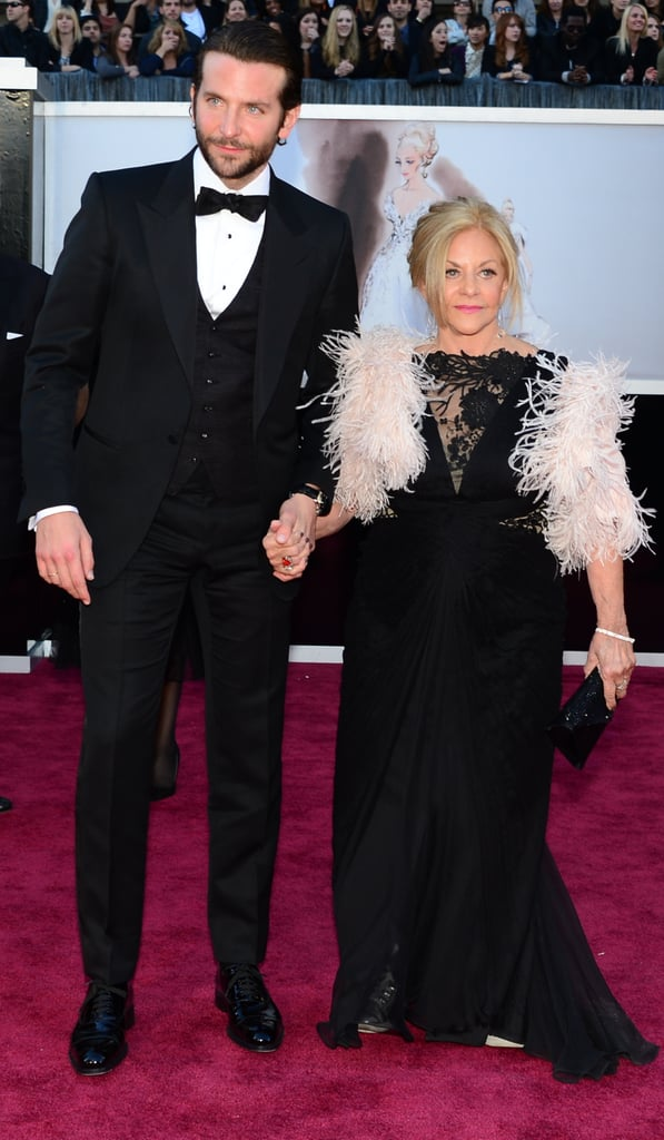Bradley Cooper Brings His Mum to the Oscars