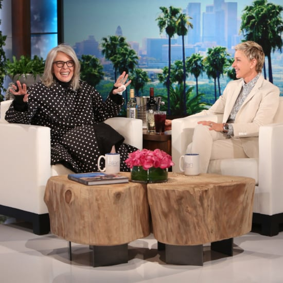 Diane Keaton Plays Who'd You Rather? on Ellen June 2016