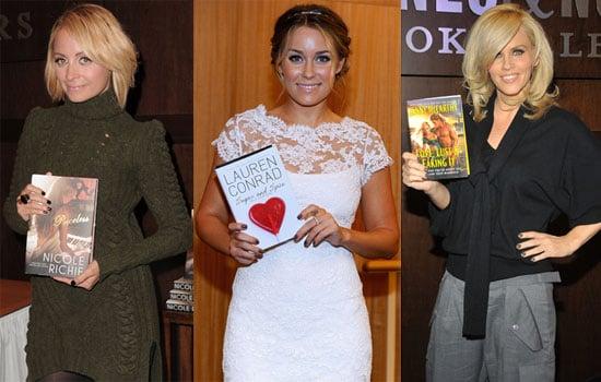 Jenny McCarthy, Nicole Richie and Lauren Conrad on Book Tour