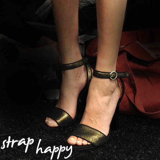 Fall 2011 Shoe Trends - Ankle Strap Shoes