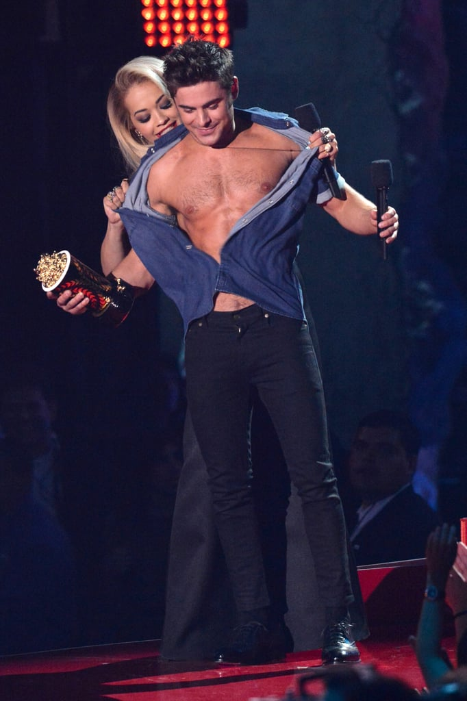 Rita Ora at the 2014 MTV Movie Awards