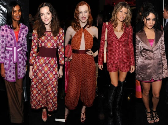 Marc Jacobs Front Row at 2011 Fall New York Fashion Week