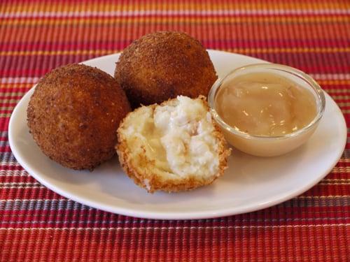 Potato Turkey Balls