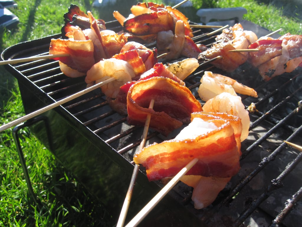 Bacon-Wrapped Shrimp With Chipotle Barbecue Sauce