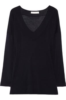 Kain V-Neck Stretch Sweater ($140)