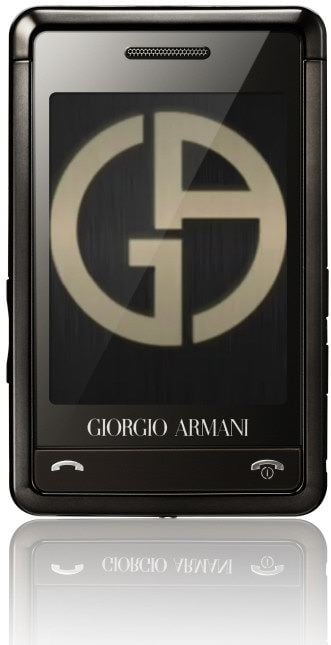 Closer Look: Samsung's Armani Phone