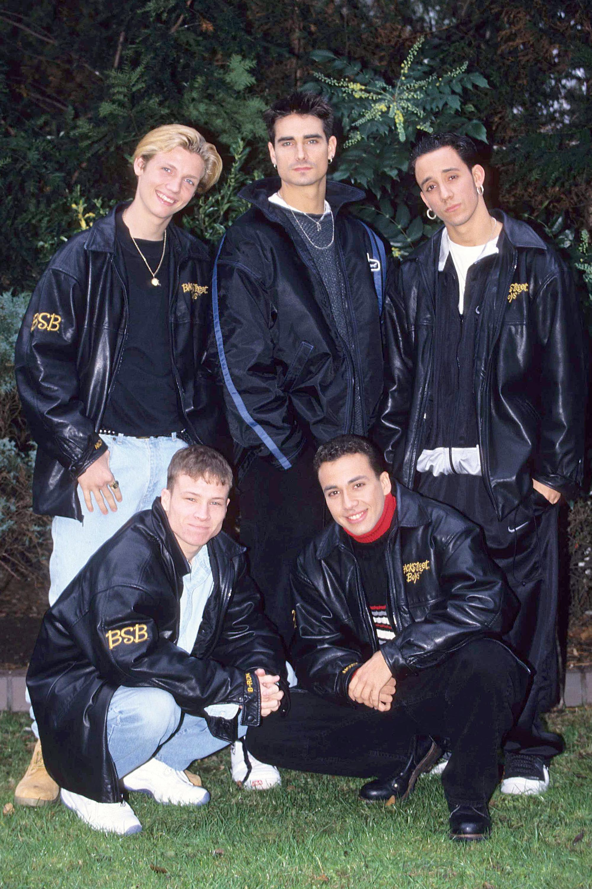 """Start with these """"BSB"""" leather jackets."""