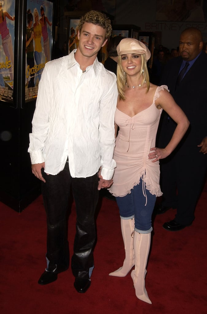 JT and Britney held hands throughout the night.