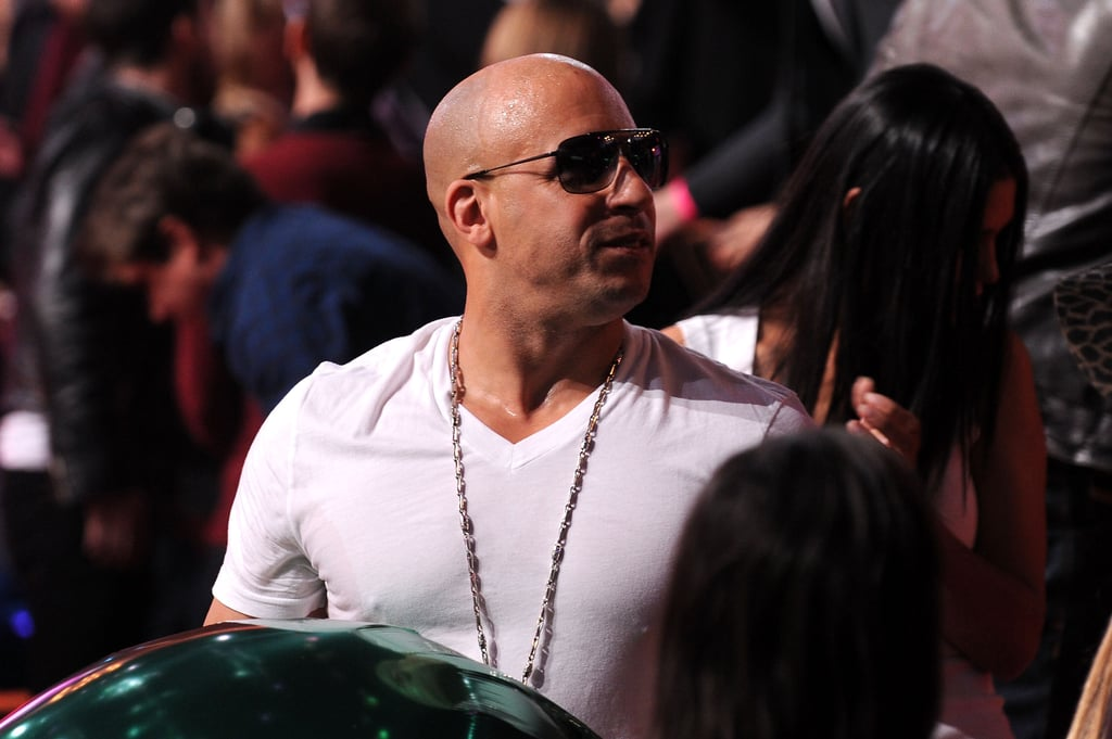 Vin Diesel definitely enjoyed his front-row seat in 2010.