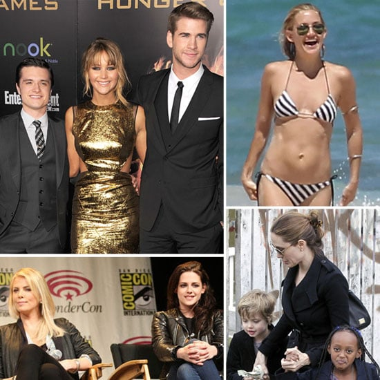 The Hottest March Headlines: The Hunger Games, Kate's Bikini Body, and Kristen and Rob Do Paris!