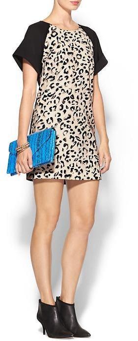Keepsake Leopard-Print Dress