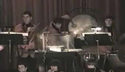 Drummer Boy Turns Into Sideshow Bob
