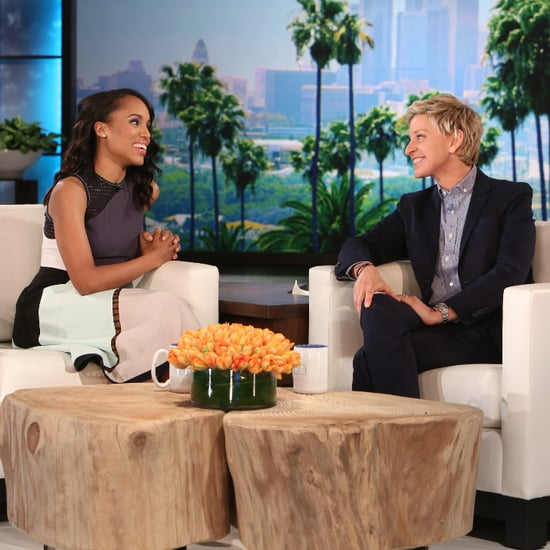Kerry Washington on the The Ellen DeGeneres Show 2015